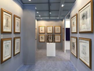 REDSEA Gallery at India Art Fair 2017, installation view