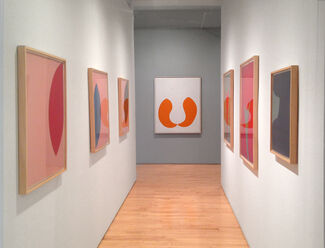 Leon Polk Smith:  Paintings and Collages from the 1960s, installation view