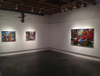 """""""Laurie Hogin: Action at a Distance"""", installation view"""