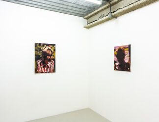 Laura Lancaster: Shadows and Mirrors, installation view