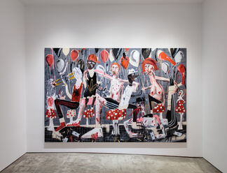 DALE LEWIS : Full English, installation view