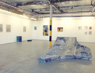 Group exhibition Femke Dekkers, Casper Verborg and Nynke Koster, installation view