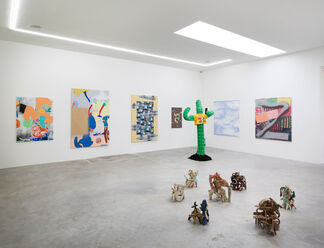 Small Enough To Keep Me Happy, Big Enough To Keep Me Occupied, installation view