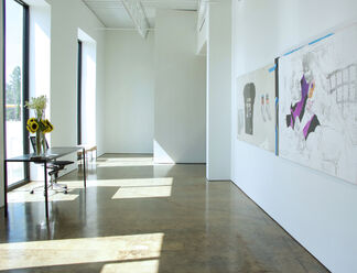The Retirement Party, installation view