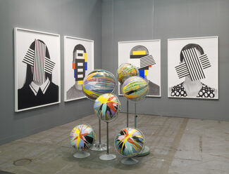 Daniel Faria Gallery at The Armory Show 2016, installation view
