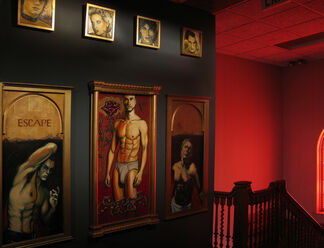 Divine Beauty (Beyond/In WNY 2010, Alternating Currents), installation view