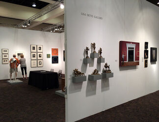 Lisa Sette Gallery at Palm Springs Fine Art Fair, installation view