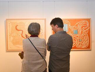 Exploring Golden Labyrinths by Baptiste Tavernier, installation view