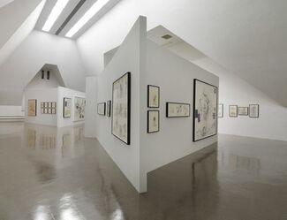 Paul McCarthy Drawings, installation view