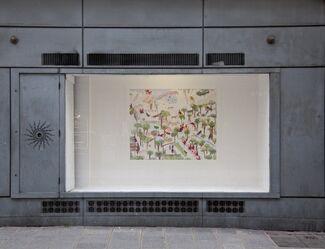 """Bianca Argimon """"Pour les essais sur les effets de la foudre"""", installation view"""
