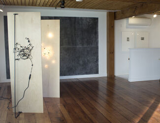 Erin Woodbrey - Air of Another Planet, installation view