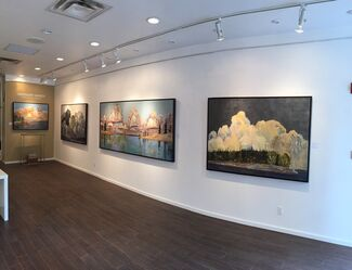 Gregory Hardy: Shattering Sky II, installation view