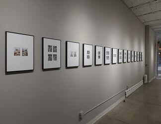 Polaroids, installation view