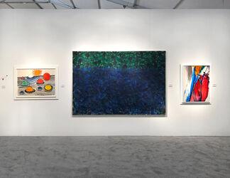 Hollis Taggart at Art Miami 2018, installation view