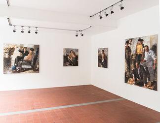 "Matthias Gálvez ""Die Enthusiasten"", installation view"