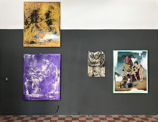 """MANUEL OCAMPO & IRENE IRE - """"Monument To The Pathetic Sublime: Resuscitating Goya or an all-out Attempt at Transcendence"""", installation view"""