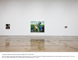 Tom LaDuke: Candles and Lasers, installation view