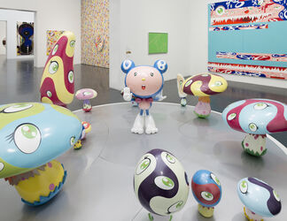 Takashi Murakami: The Octopus Eats Its Own Leg, installation view