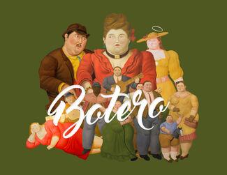 Botero, installation view