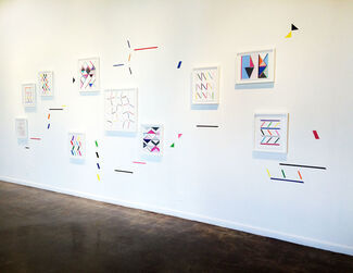 Refraction in the Line of Sight, installation view