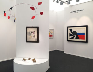 Galerie Thomas at Frieze Masters 2017, installation view