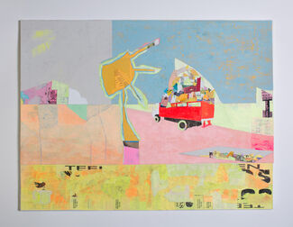 BUZZ, POP, COLOR, LOS ANGELES - Rochelle Botello, Adah Glenn, Christopher Kuhn, Katya Marshall, Megan St Clair and Stacy Wendt, installation view