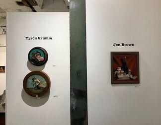 Caravaggio Died of the Jello Fever, installation view