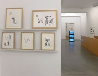 PER DYBVIG | outdrunk from neighbourhood, dead hare surrounded, installation view