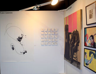 Benjaman Contemporary at echo Art Fair 2016, installation view