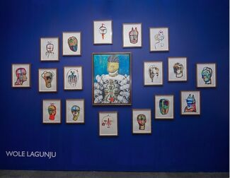 Ed Cross Fine Art at London Art Fair 2018, installation view