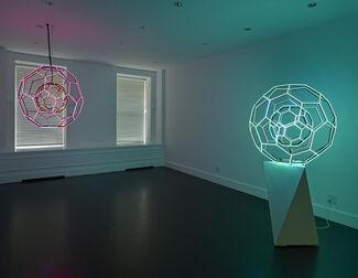 Leo Villareal: Buckyball, installation view