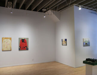 """Gathie Falk """"Mostly Small Paintings"""", installation view"""
