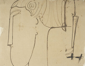 500 Years of Italian Master Drawings from the Princeton University Art Museum, installation view