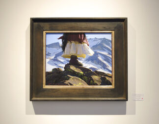 """Jeremy Lipking - """"Recent Paintings"""", installation view"""