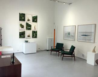 Fabrizio Ceccardi - Landscapes, installation view