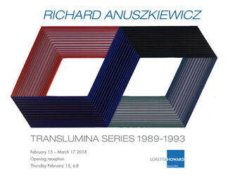 Richard Anuszkiewicz: Translumina Series 1989-1993, installation view