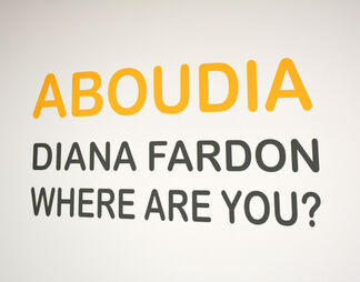 Aboudia: Diana Fardon Where Are You?, installation view