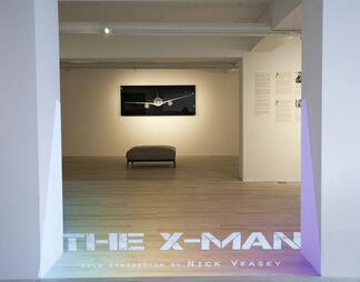 The X-Man, installation view