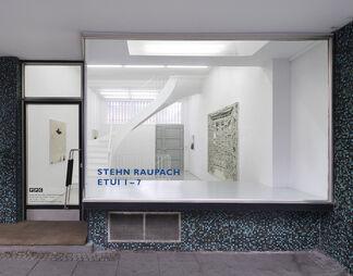 Stehn Raupach. Etui 1-7, installation view