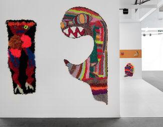 Steve Turner at Art Brussels 2019, installation view