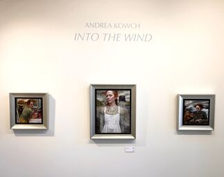 Andrea Kowch Solo Exhibition: Into The Wind, installation view