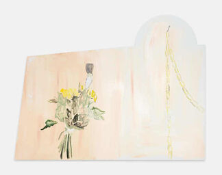 """Maximiliane Baumgartner """" Gusto oder zwischen roten Städten"""", installation view"""