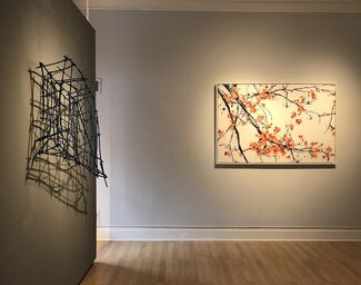 BRANCHED: JACKIE BATTENFIELD & JULIA BLOOM, installation view
