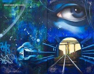 The Journey - Chris 'DAZE' Ellis, installation view