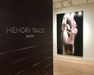 Zekoff - Memory Traces, installation view