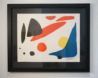 Calder: Graphic Works, installation view