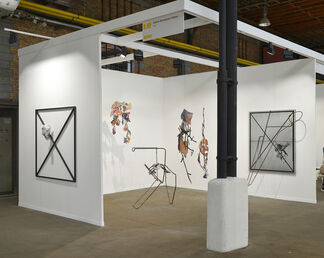 GALERIE ESCOUGNOU-CETRARO at Art Brussels 2017, installation view