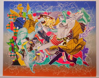 Frank Stella: Imaginary Places, installation view