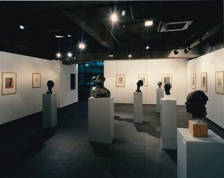 "Marino Marini ""portraits"", installation view"