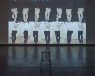 Bruce Nauman: Contrapposto Studies, I through VII, installation view